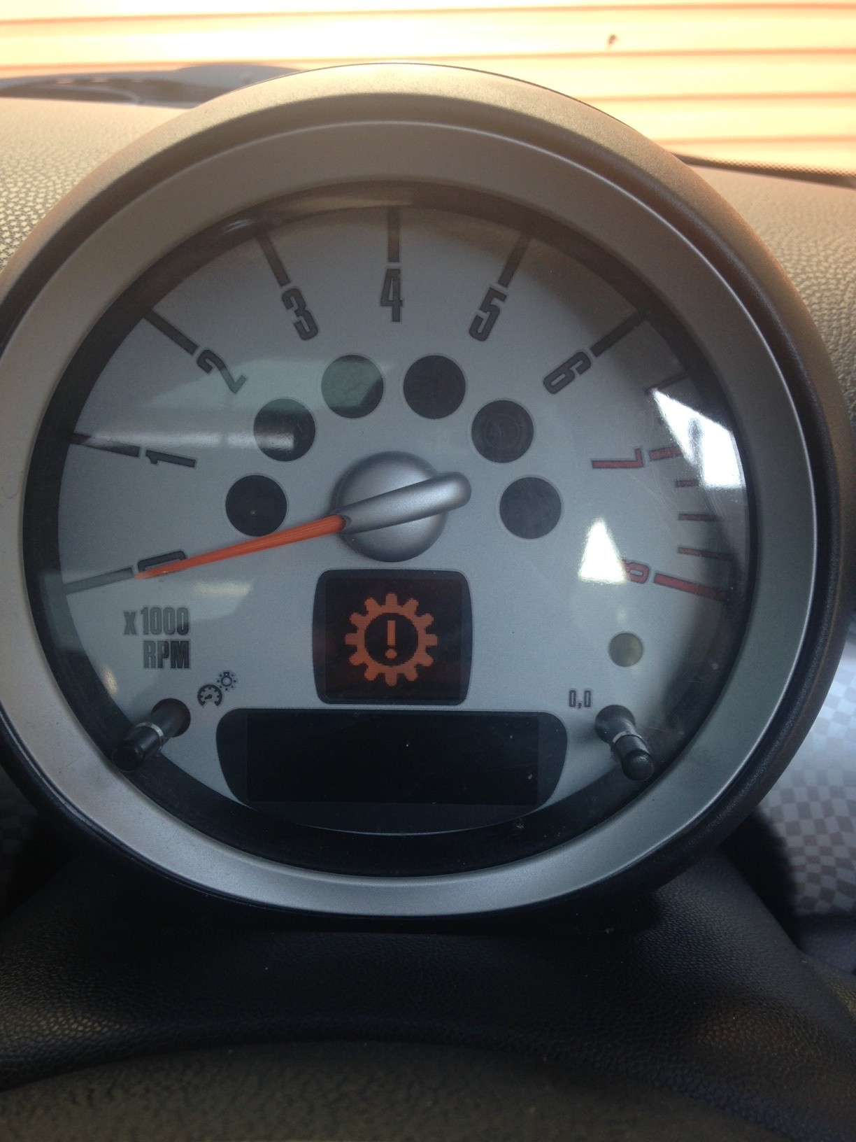 Mini R56 Warning Light Help